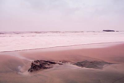 Print featuring the photograph Laguna Shores Memories by Heidi Hermes