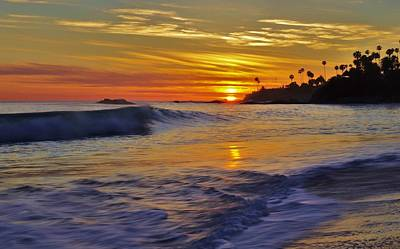 Photograph - Laguna's Last Light by Matt Helm