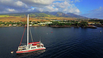 Photograph - Lahaina By Sea by James Roemmling