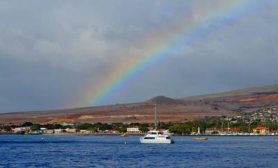 On Trend Breakfast - Lahaina under the rainbow by Debra Casey