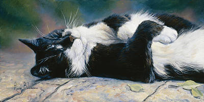 Hemingway House Wall Art - Painting - Laid Back by Lucie Bilodeau