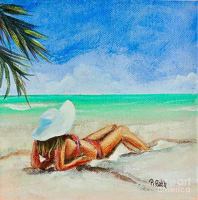 Painting - Laid Back by Patricia Piffath