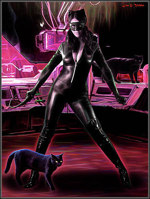 Photograph - Lair Of The Cat Woman by Jon Volden