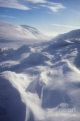 Photograph - Lairig Ghru In Winter - Cairngorm Mountains by Phil Banks