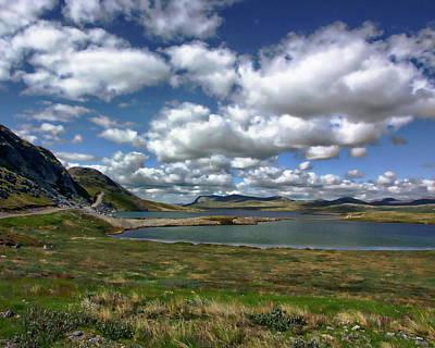 Photograph - Lake Aajuitsup Tasia by Anthony Dezenzio