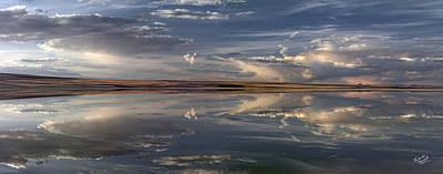 Lakes Photograph - Lake Abert 4 by Leland D Howard