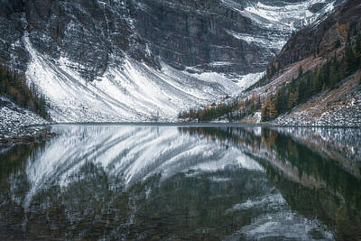 Banff Wall Art - Photograph - Lake Agnes No 1 by Chris Fletcher