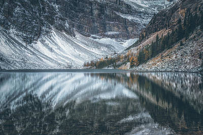 Banff Wall Art - Photograph - Lake Agnes No 3 by Chris Fletcher