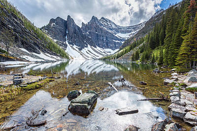 Photograph - Lake Agnes by Stuart Gennery