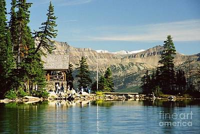 Photograph - Lake Agnes Tea House by Frank Townsley