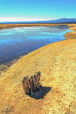 Photograph - Lake Almanor Drought California by LeeAnn McLaneGoetz McLaneGoetzStudioLLCcom