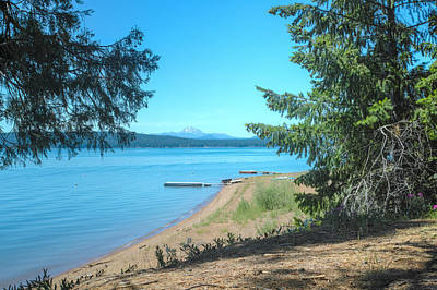 Photograph - Lake Almanor by Peter Dyke