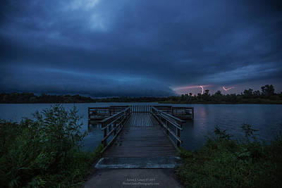 Photograph - Lake Alvin Shelf  by Aaron J Groen