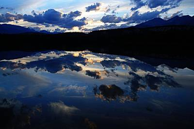 Photograph - Lake Annette At Sunset by Larry Ricker