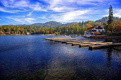 Lake Arrowhead California Art Print