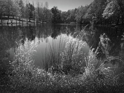 Photograph - Lake At Musgrove Mill State Historic Site by Kelly Hazel