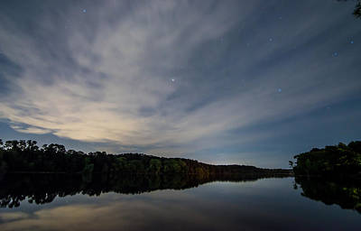 Photograph - Lake At Night by Todd Aaron