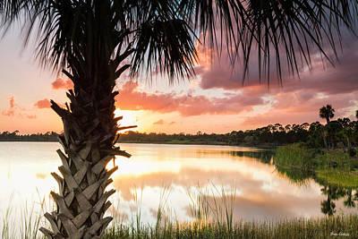 Photograph - Lake At Sunset by Fran Gallogly