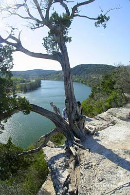 Photograph - Lake Austin by Frank Townsley