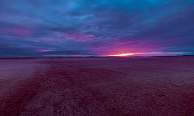 Photograph - Lake Ballard At Dawn by Julian Cook