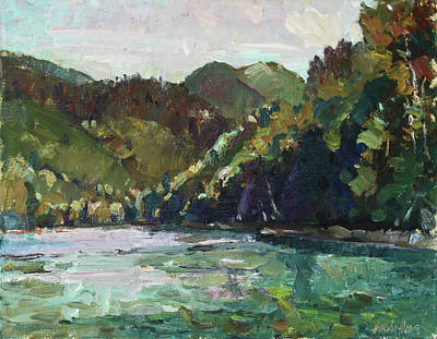 Painting - Lake Biograd by Juliya Zhukova