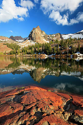 Photograph - Lake Blanche Spring Vertical by Johnny Adolphson