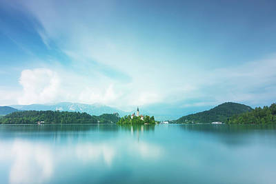 Photograph - Lake Bled by Mirko Chessari