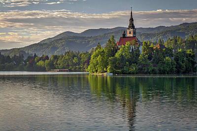 Photograph - Lake Bled Morning #2 - Slovenia by Stuart Litoff