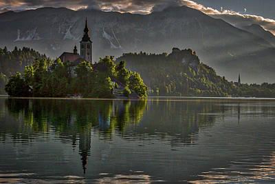 Photograph - Lake Bled Morning #3 - Slovenia by Stuart Litoff
