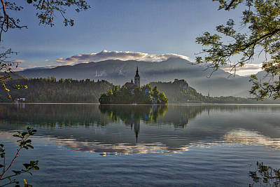 Photograph - Lake Bled Morning - Slovenia by Stuart Litoff