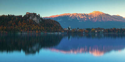 Photograph - Lake Bled Panorama by Davor Zerjav
