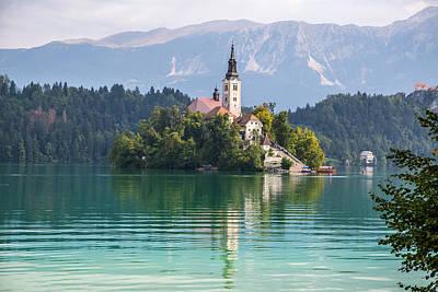 Photograph - Lake Bled, Slovenia by Lev Kaytsner