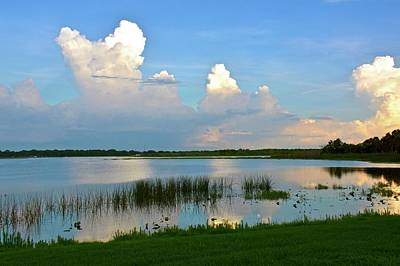 Photograph - Lake Bonny Evening by Carol Bradley