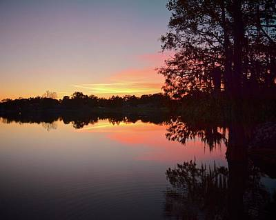 Photograph - Lake Bonny Sunset by Carol Bradley