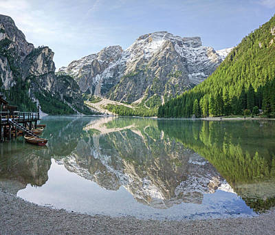 Photograph - Lake Braies by Angie Schutt