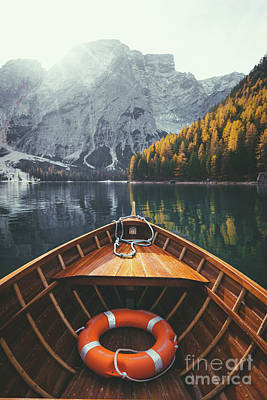 Photograph - Lake Braies by JR Photography