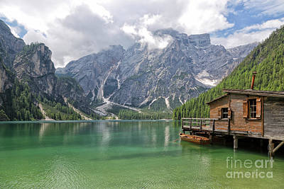 Photograph - Lake Braies by Yair Karelic