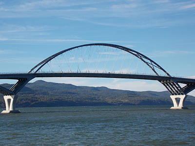 Crown Point New York Photograph - Lake Champlain Bridge by Catherine Gagne
