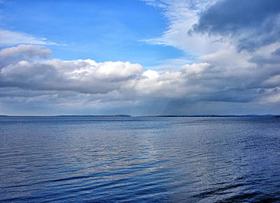 Photograph - Lake Champlain From New York by Brendan Reals