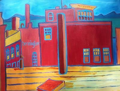 Lake Champlain Rooftop View Art Print by Debra Bretton Robinson