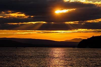 Photograph - Lake Champlain Sunset by Sven Kielhorn