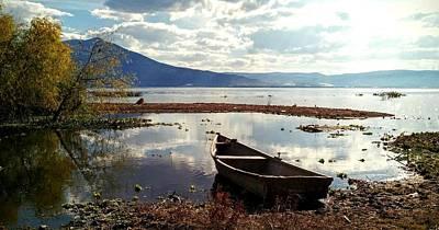 Digital Art - Lake Chapala by Max DeBeeson