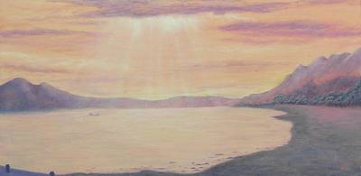 Lake Chapala Art Print