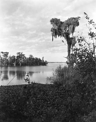 Louisiana Photograph - Lake Charles, Louisiana by Underwood Archives