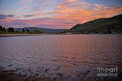 Lake Chelan Sunset Art Print