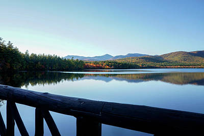 Photograph - Lake Chocorua Autumn by Nancy De Flon