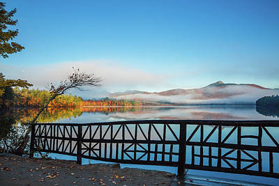 Wild And Wacky Portraits Rights Managed Images - Lake Chocorua Bridge Royalty-Free Image by Robert Clifford
