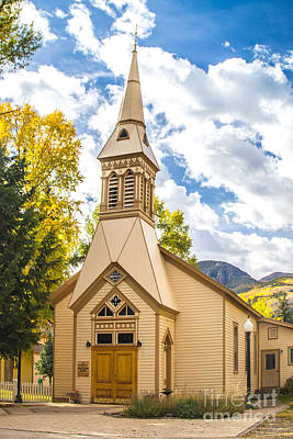 Photograph - Lake City Church by Jim McCain