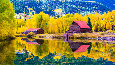 Photograph - Lake City Reflections by Jim McCain