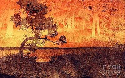 Photograph - Lake Collage by Mickey Harkins